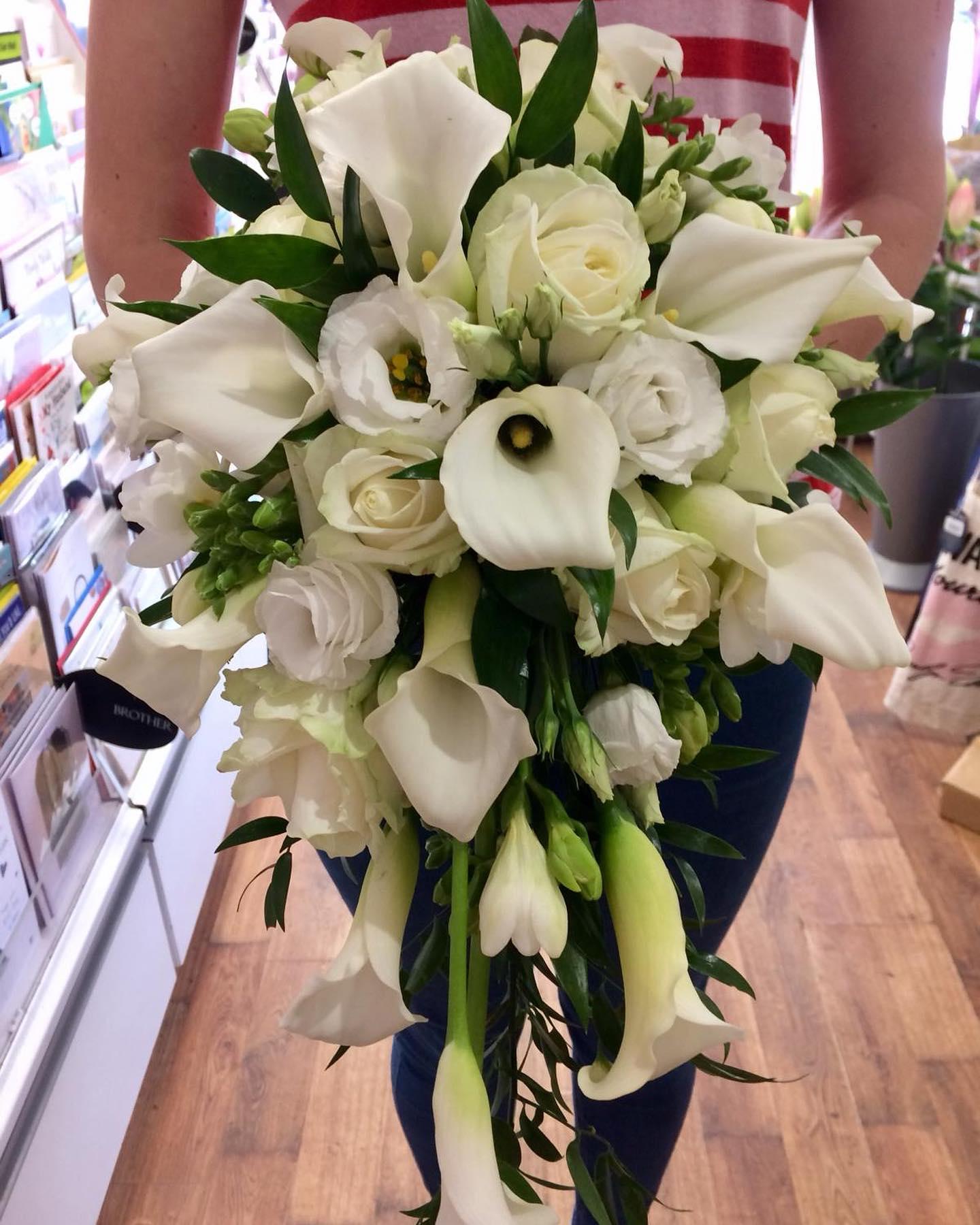 Calla Lily Bride's Bouquet