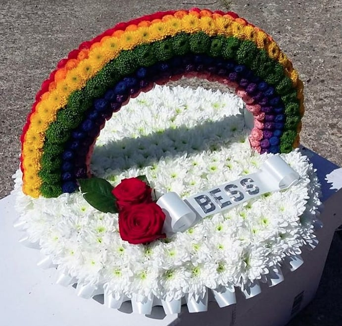 Rainbow Cushion POA