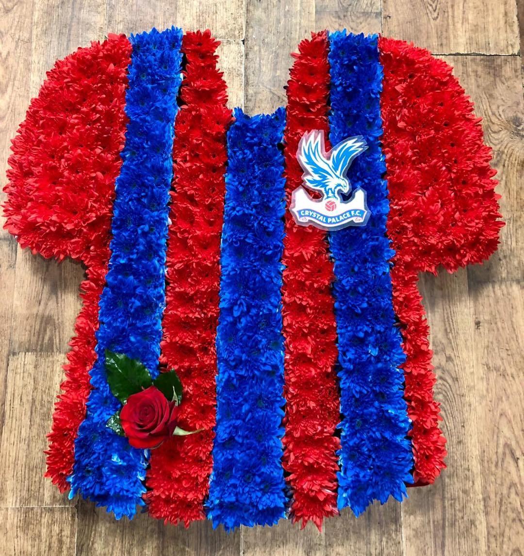 Crystal Palace FC Home Shirt £120.00