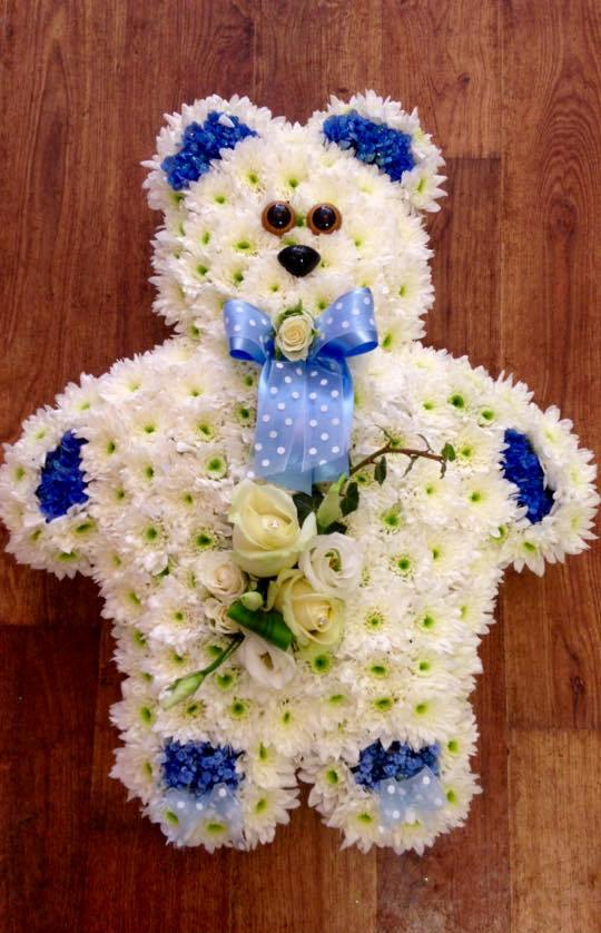 Blue Teddy Bear from £85.00