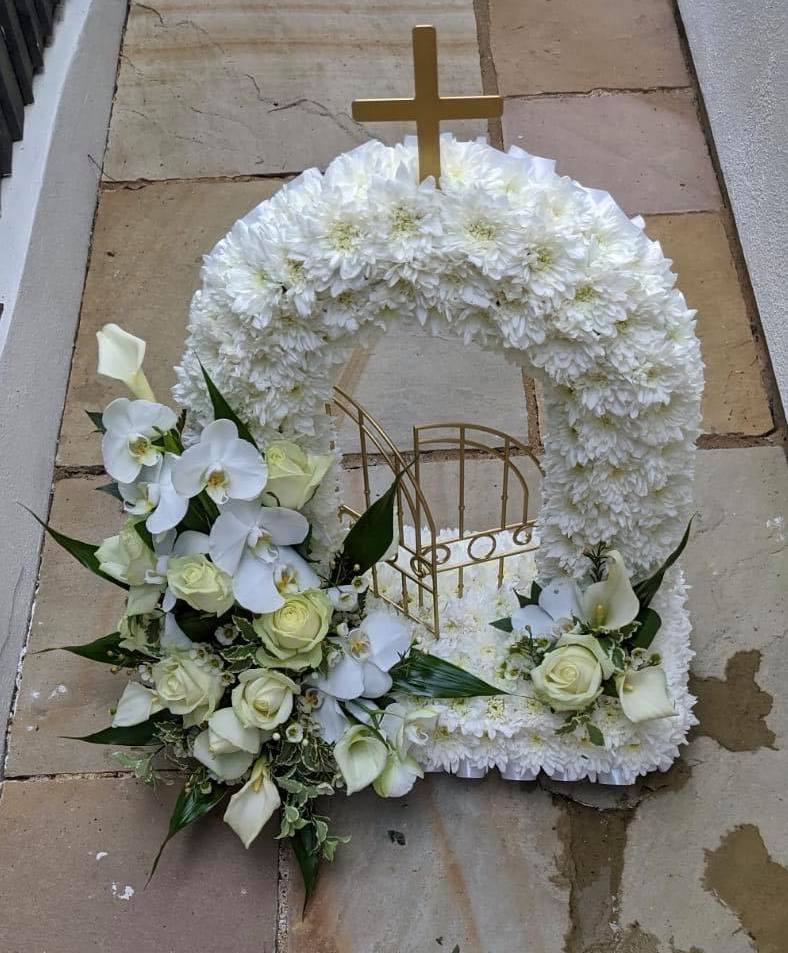 White Orchid Gates of Heaven £125.00