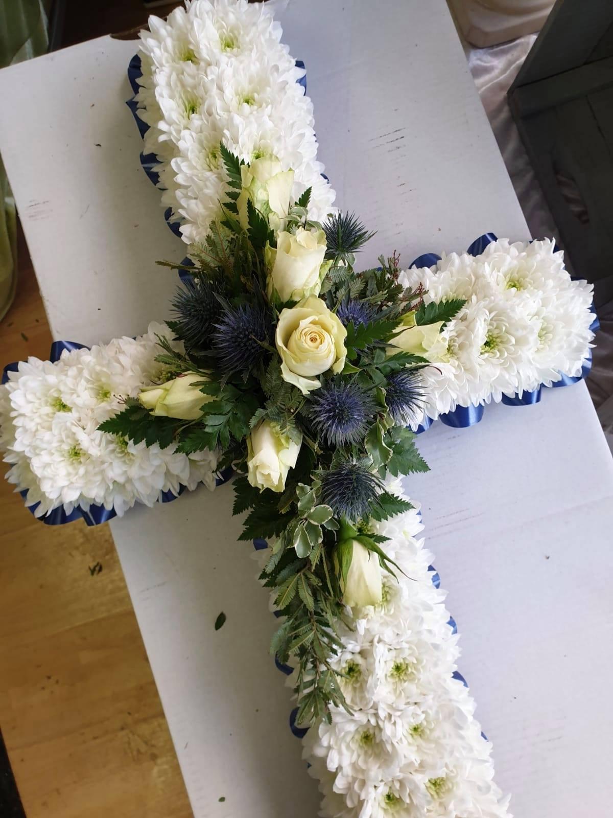 Blue Thistle Cross £27.50 per foot