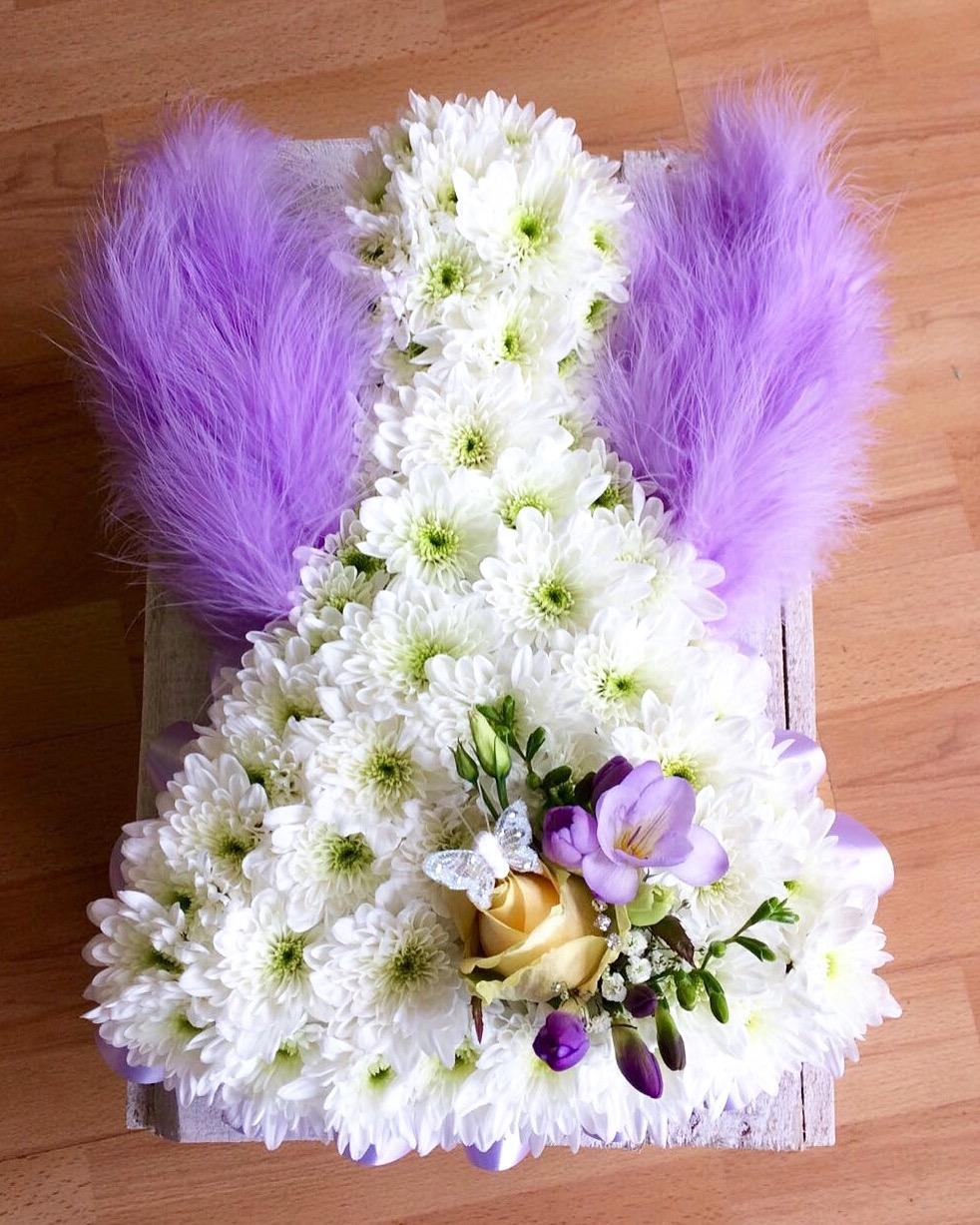Lilac Feather Winged Angel £95.00