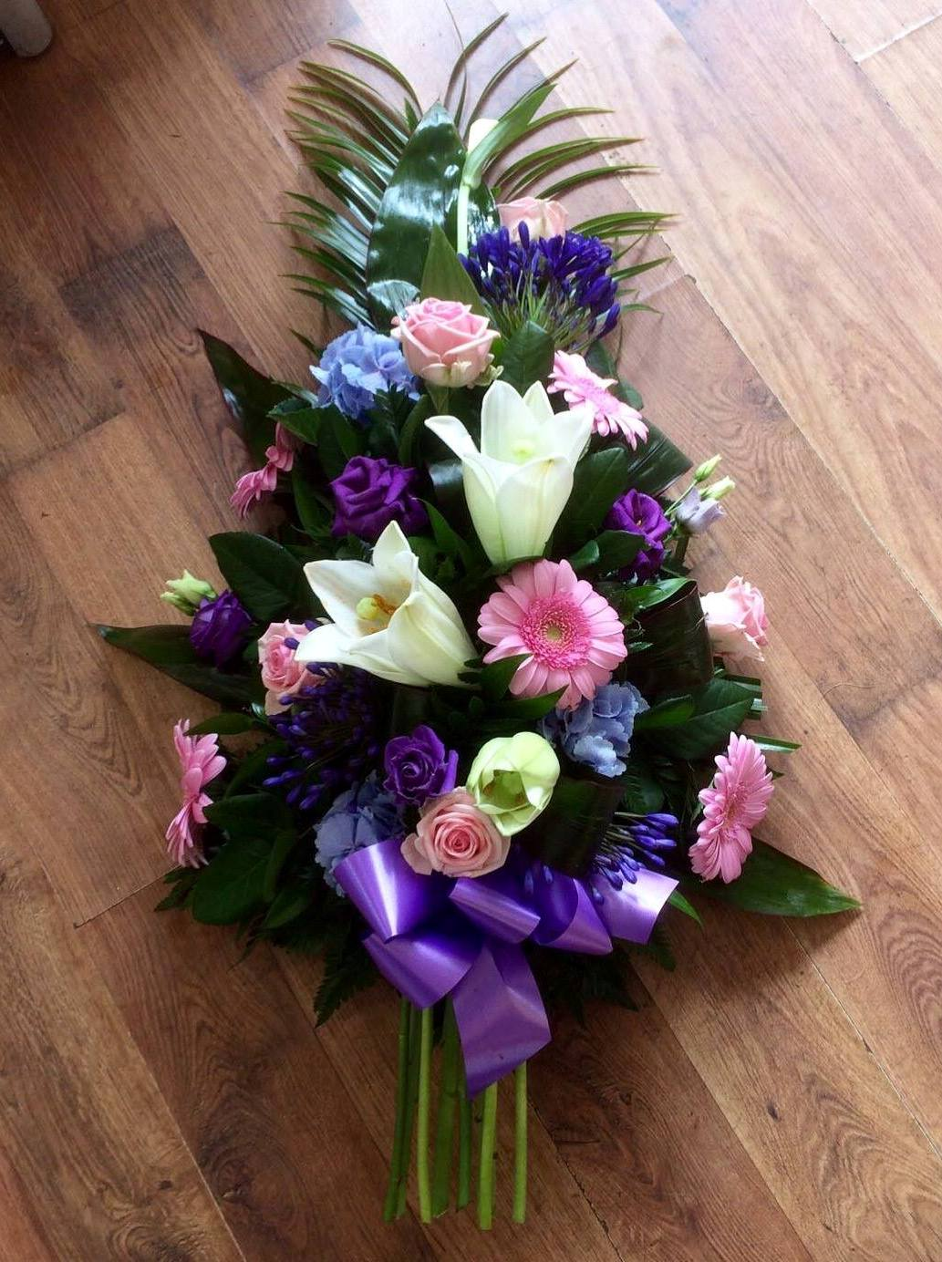 Purple & Pink Sheaf from £50.00