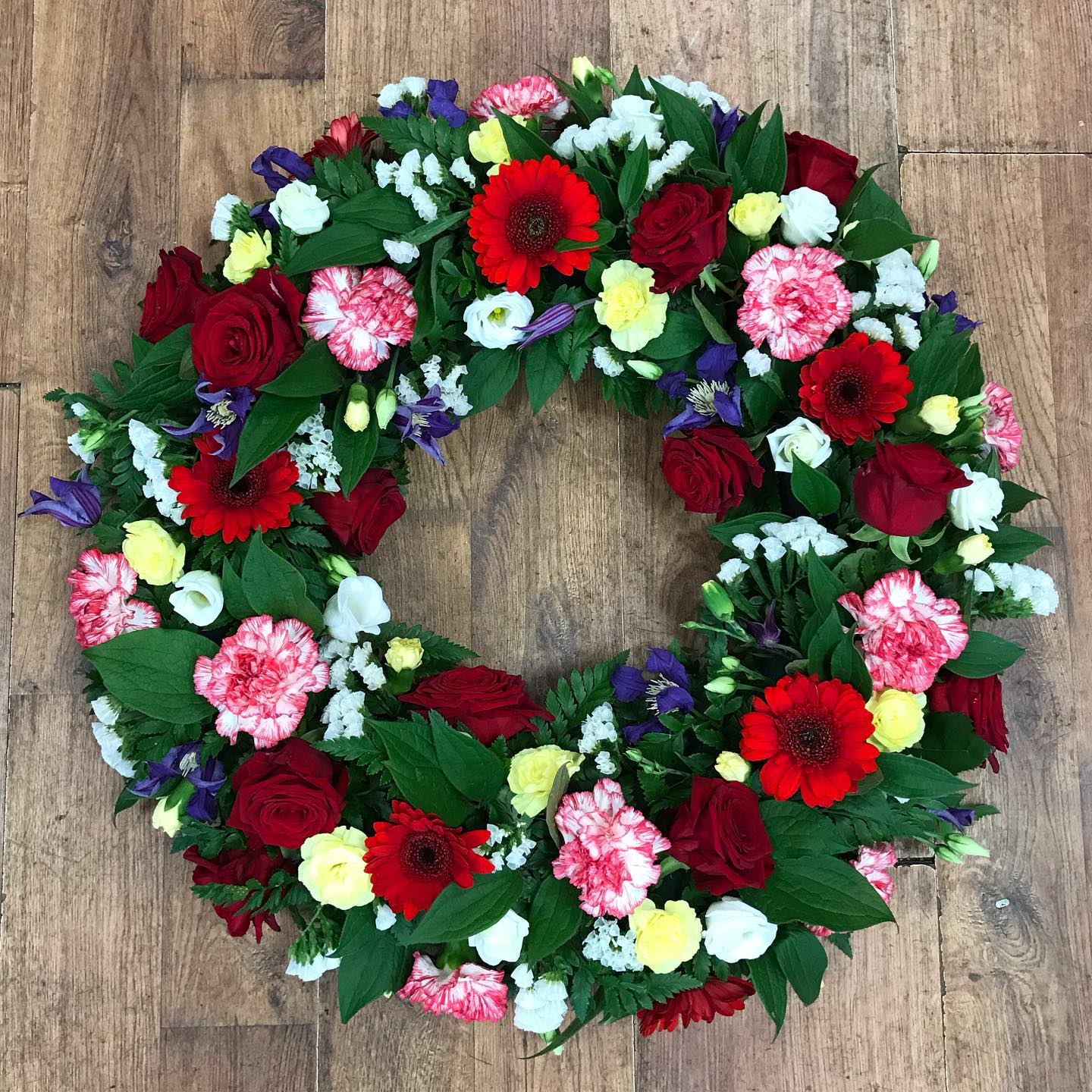 Loose Red Wreath from £40.00