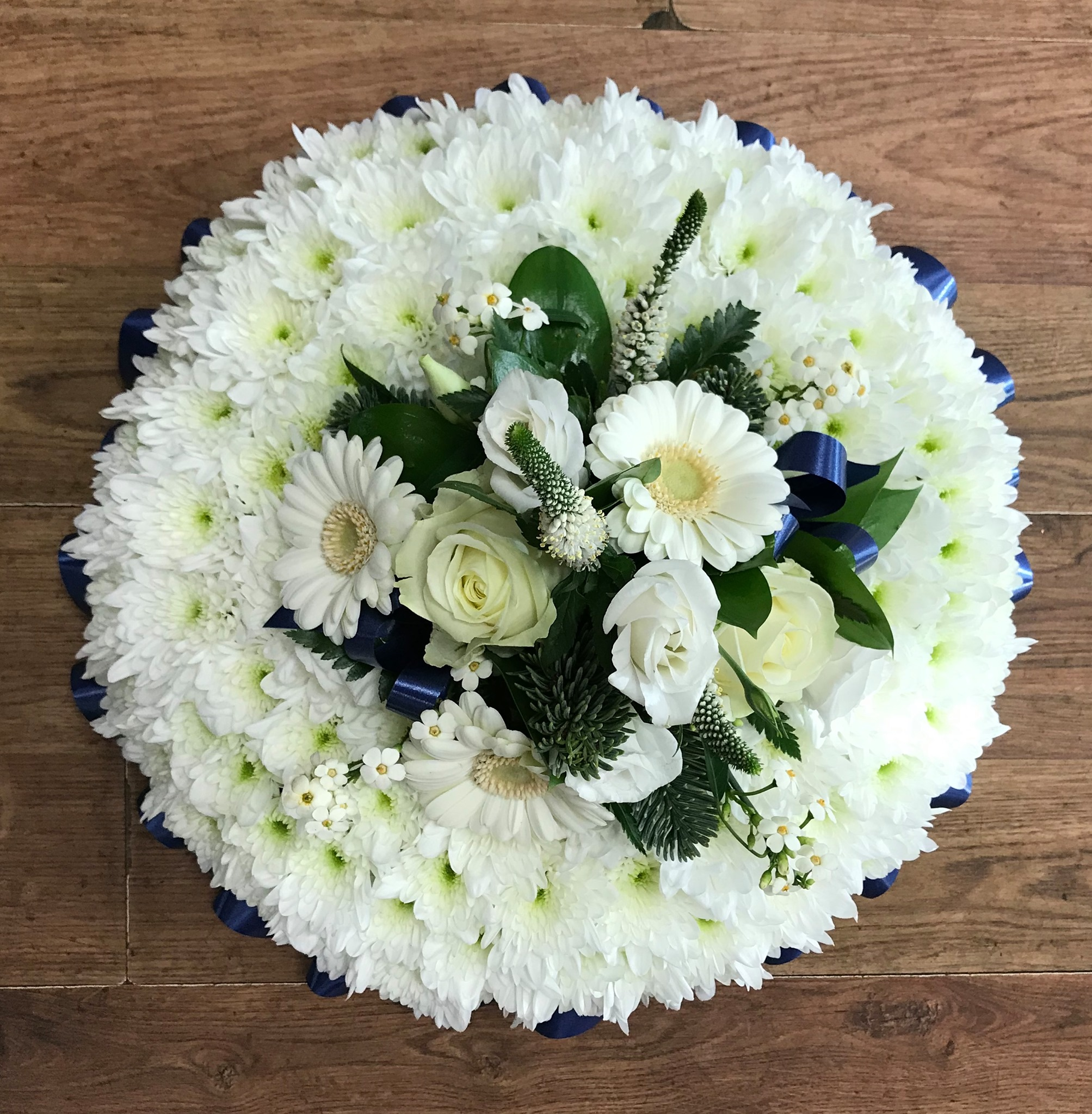Blue & White Posy Pad from £30.00