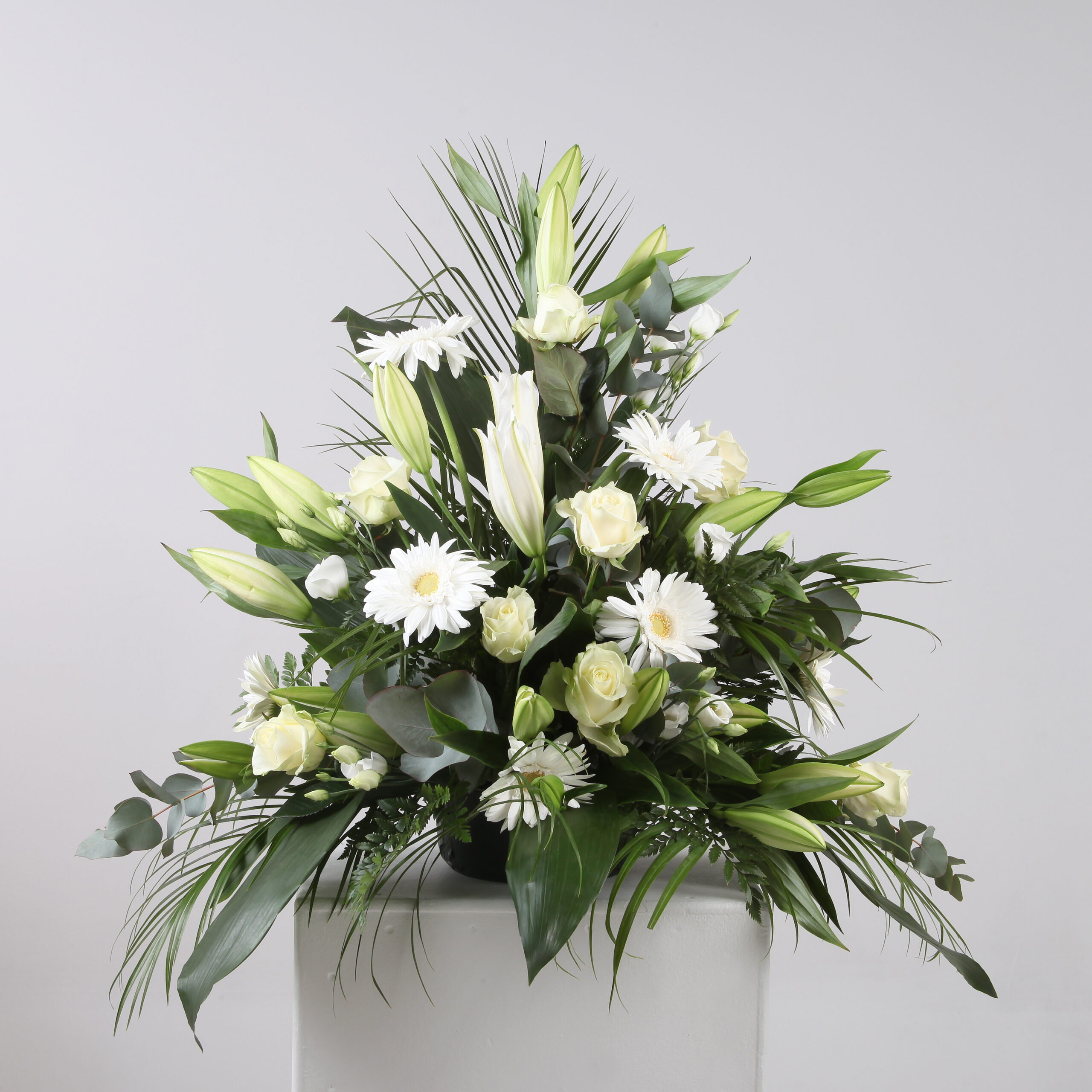 White Rose & Lily Pedestal from £50.00