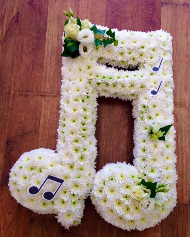 Double Music Note £120.00