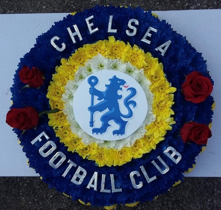 Chelsea FC Wreath £120.00