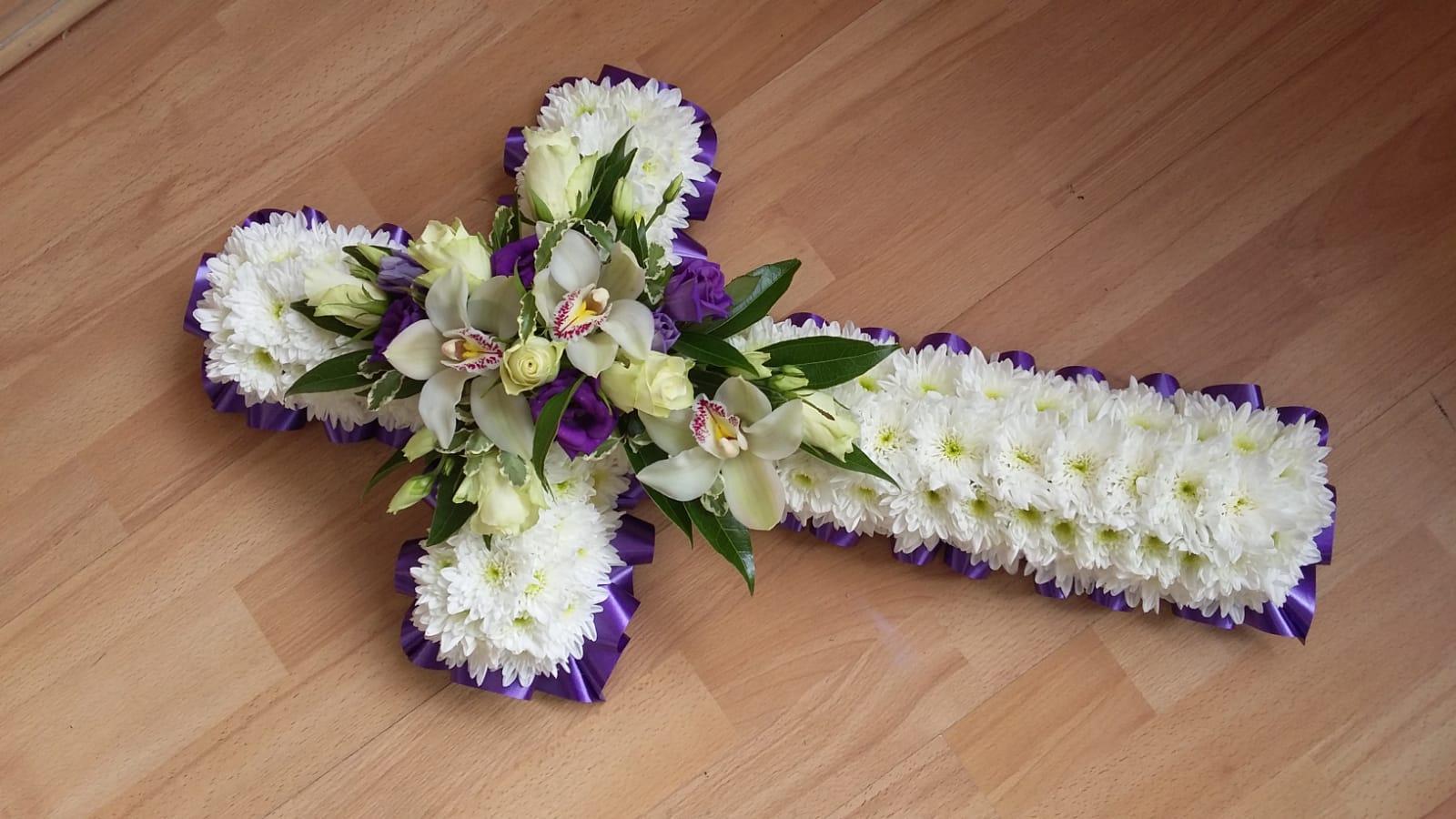 Small Purple Cross