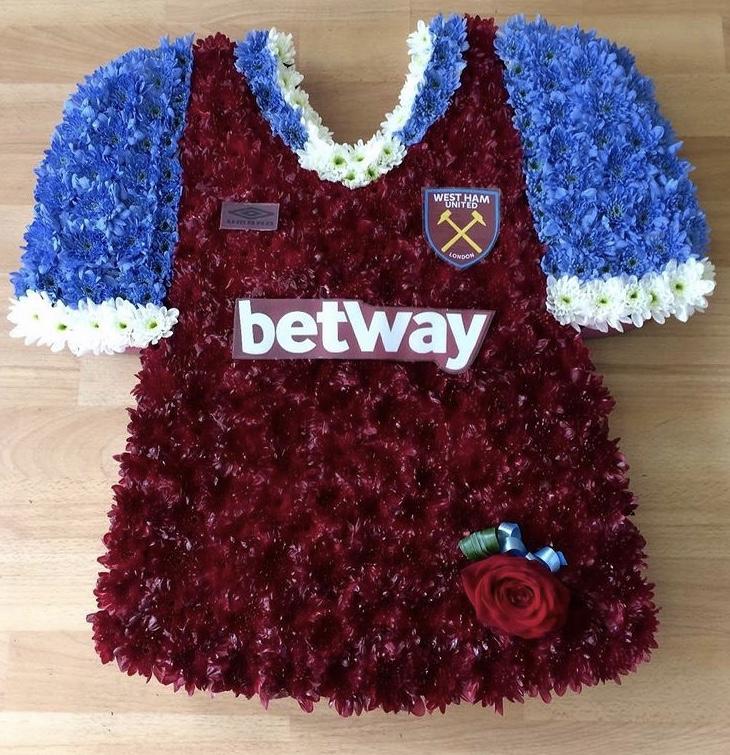West Ham Football Shirt £120.00