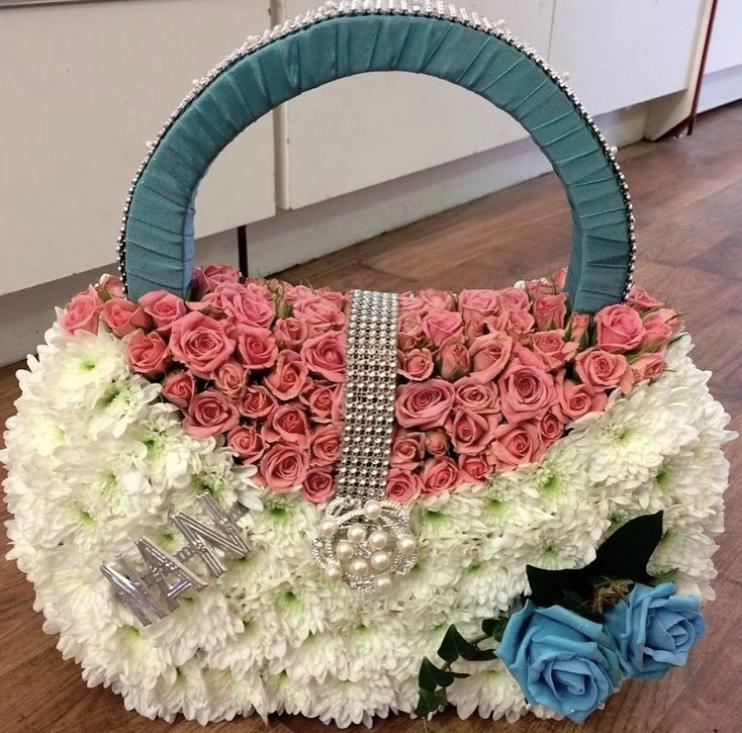 Spray Rose Handbag POA