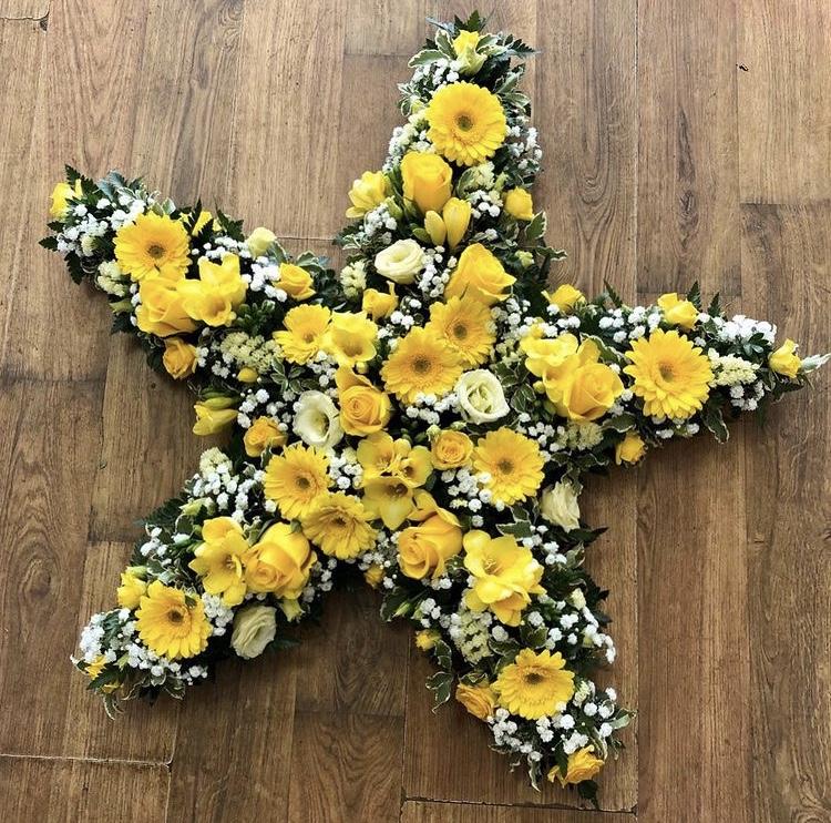 Loose Yellow Star £100.00