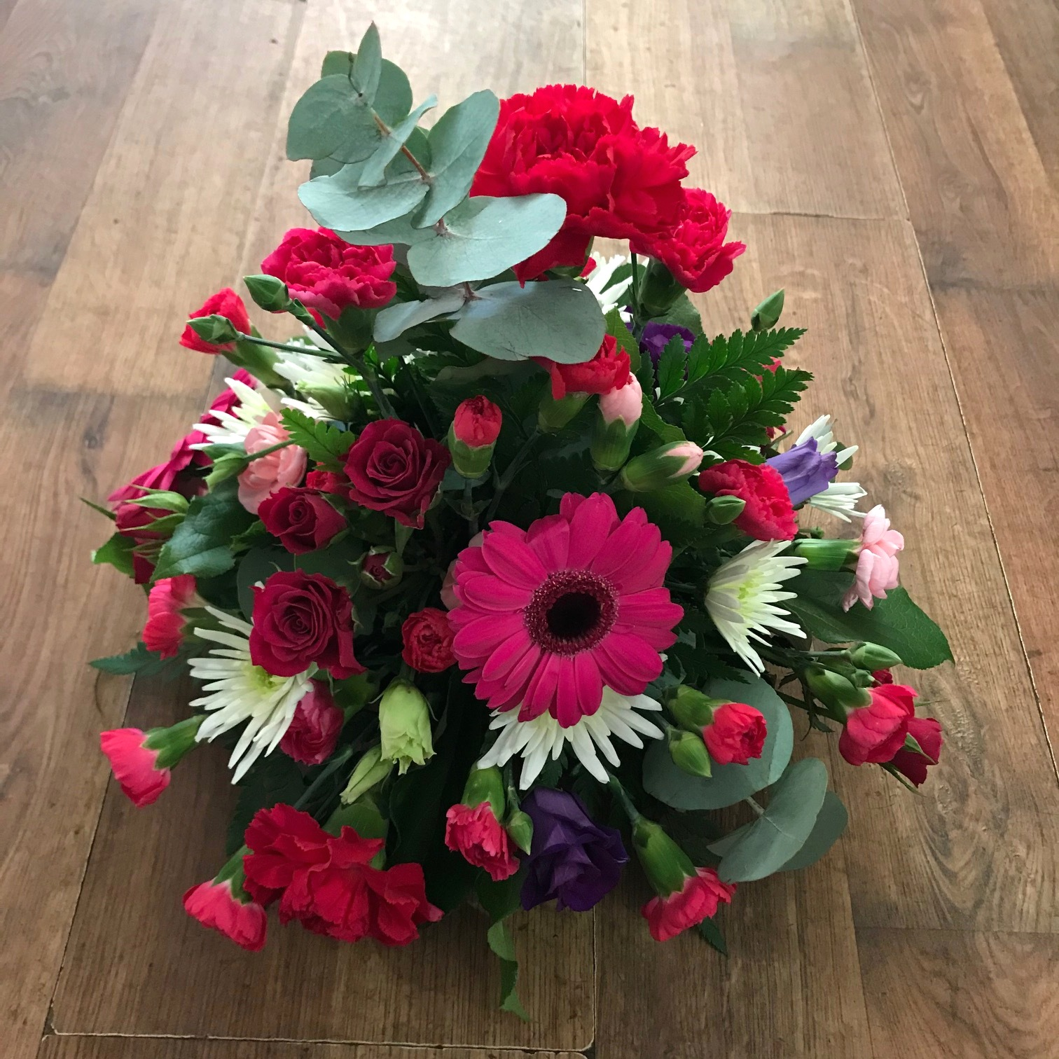 Red & Pink Posy Bowl £25.00