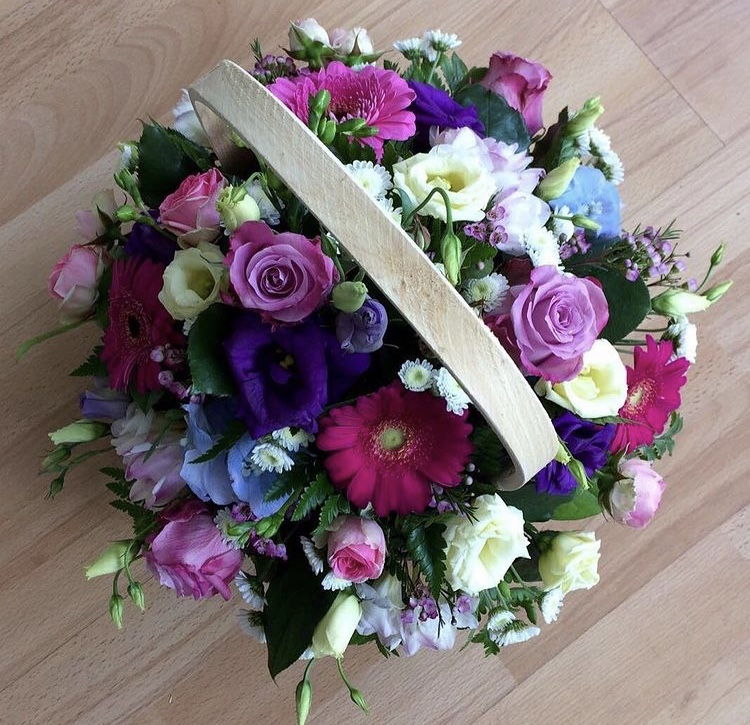 Pink & Purple Basket from £35.00