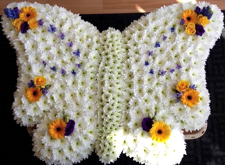 Lilac & Yellow Butterfly from £120.00
