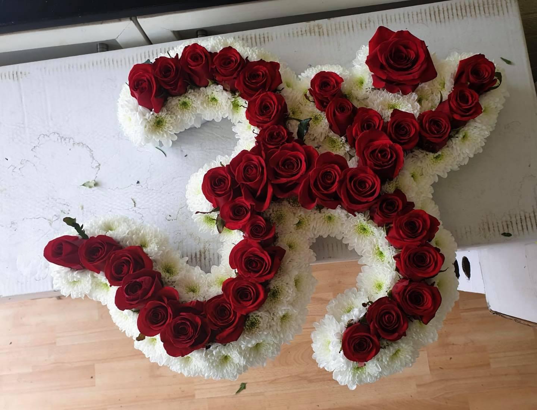 Red Rose Om