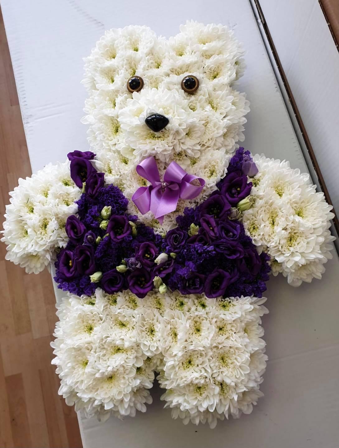 Teddy Bear in Purple Waistcoat