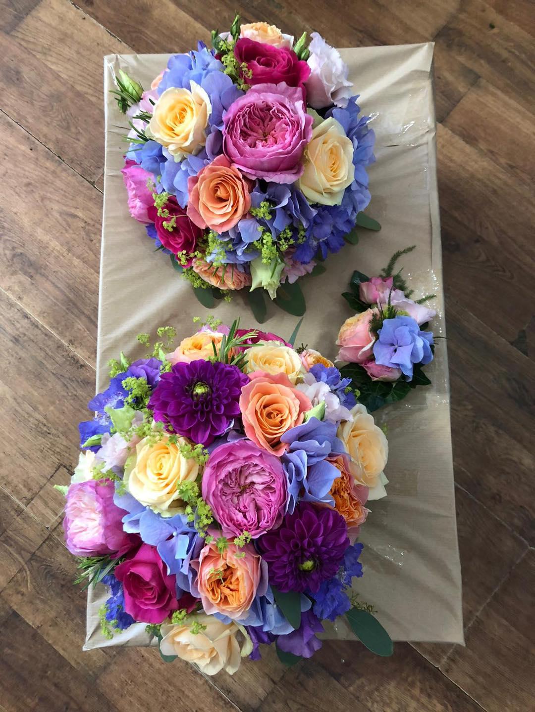 Colourful Summer Wedding