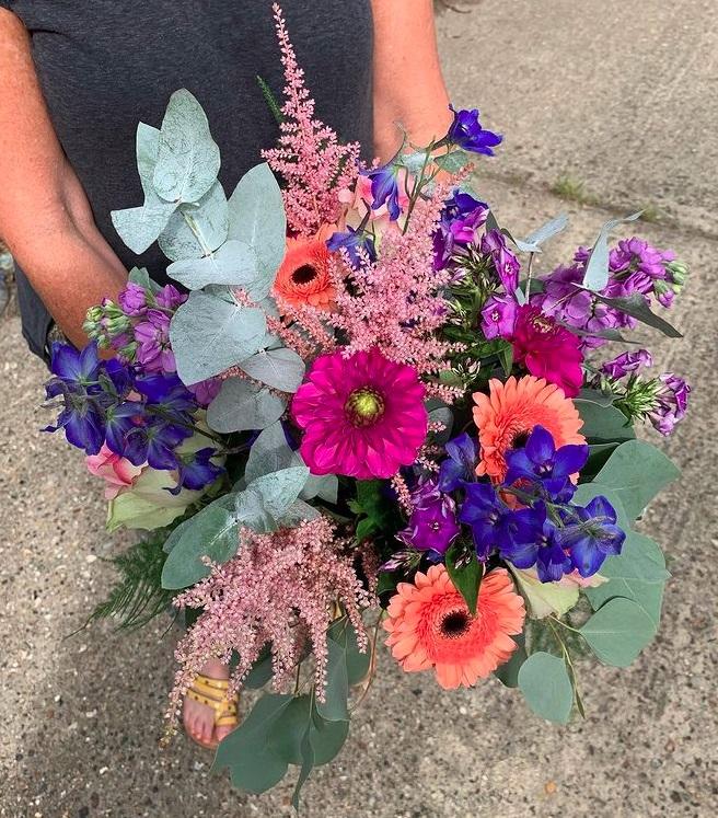 Boho Bride's Bouquet